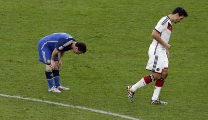 Messi a vomitat din nou