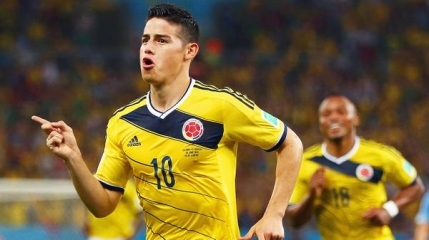 James Rodriguez va juca la Real Madrid