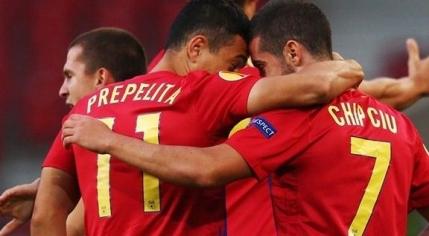 Steaua castiga pe final cu Ludogoret