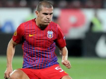 Bourceanu a revenit accidentat la Steaua. Nu stie cand va juca