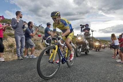 Contador isi mareste avansul la general in Vuelta