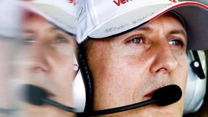 Michael Schumacher este, in sfarsit, acasa