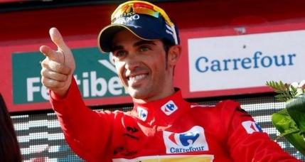 Alberto Contador, campion in Vuelta