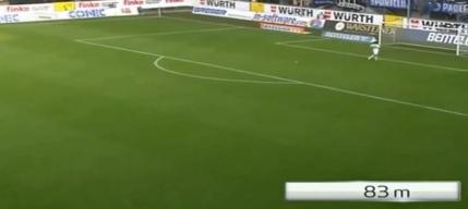 VIDEO Record in Bundesliga: gol de la cea mai mare distanta