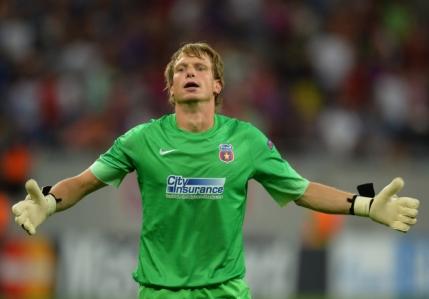 Steaua il poate pierde in vara pe Arlauskis