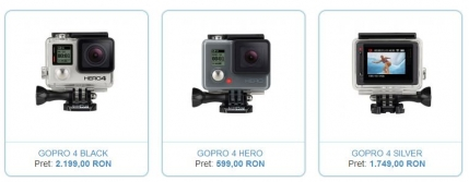 GoPro: S-a lansat noul Hero 4 (video)