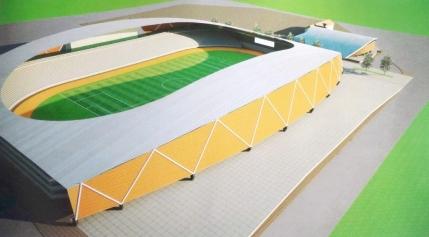 Stadion de cinci stele la Targu Jiu