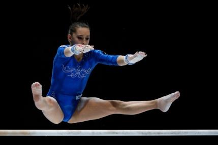 CM de Gimnastica: Larisa Iordache, medalie de argint la individual compus