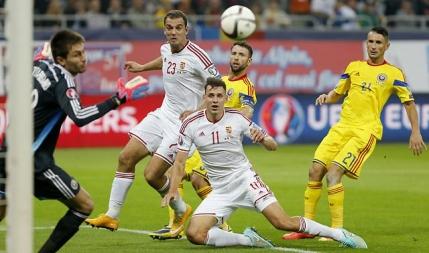Romania s-a crezut cu sacii in caruta, dar pierde doua puncte cu Ungaria
