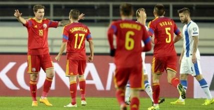 Romania revine in lupta pentru sefia Grupei F, dupa 2-0 in Finlanda