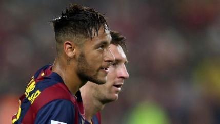 Neymar si Messi se inteleg de minune in atacul Barcelonei