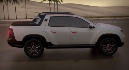 Dacia a prezentat oficial noul pick-up Duster Oroch (video)