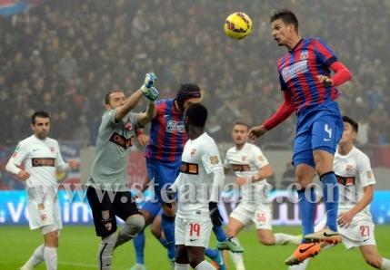 Steaua, victorie de groaza cu Dinamo in noaptea de de Halloween