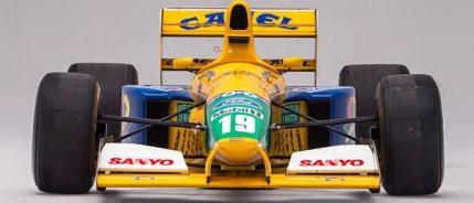 Prima masina cu care Michael Schumacher a luat un podium se vinde la licitatie