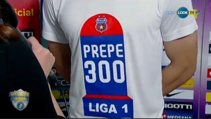 Andrei Prepelita la meciul 300 in Liga 1