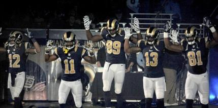 Gest de protest in NFL la adresa Politiei din SUA