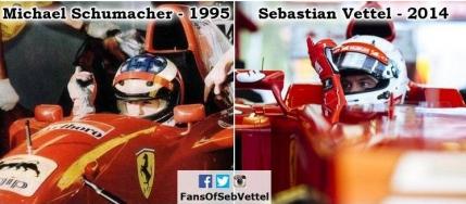 Vettel ii calca pe urme lui Schumacher dupa 19 ani