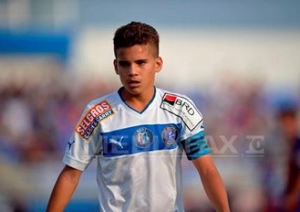 Ianis Hagi a debutat in Liga 1