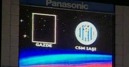 Steaua a jucat cu numele Gazde