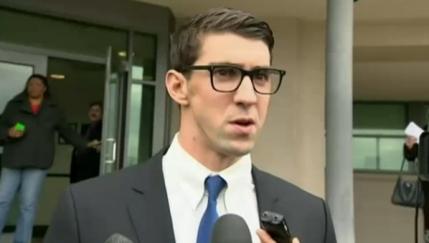 Michael Phelps, condamnat la inchisoare cu suspendare