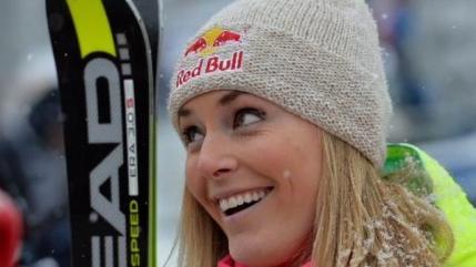 Lindsay Vonn la o victorie de recordul Cupei Mondiale