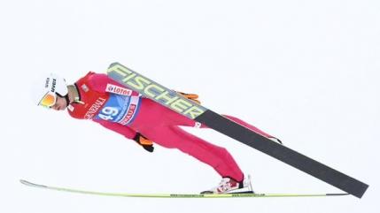 Un norvegian castiga a doua etapa din Turneul Celor 4 Trambuline la sarituri cu schiurile