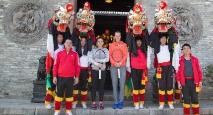 Simona Halep s-a intalnit cu dragonii in China