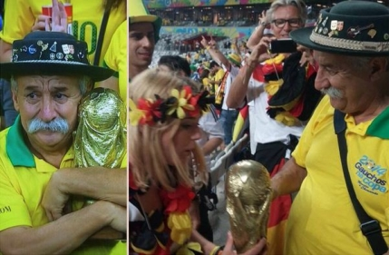 Imgur: Cea mai buna imagine din 2014 a fost una de la Cupa Mondiala din Brazilia