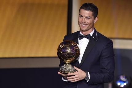 Balonul de Aur: Cristiano Ronaldo obtine trofeul, al treilea din cariera