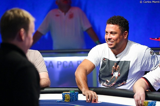 Ronaldo a dat lovitura la poker