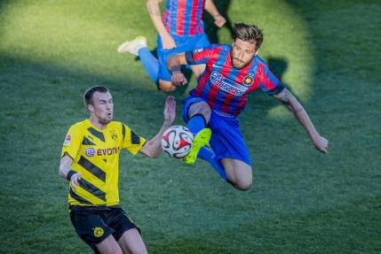 Steaua pierde amicalul cu Borussia Dortmund
