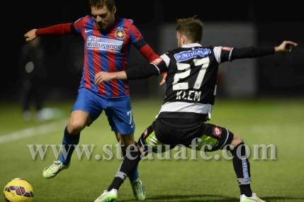 Steaua invinge CSKA Sofia la limita. Tucudean si-a facut debutul