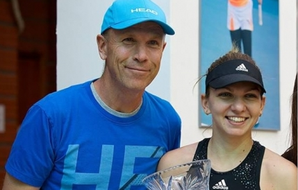 Simona Halep schimba din nou antrenorul
