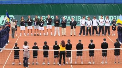 Cupa Davis, Romania-Israel: Programul meciurilor. Adrian Ungur deschide intalnirea contra unui jucator din afara topului 800 mondial