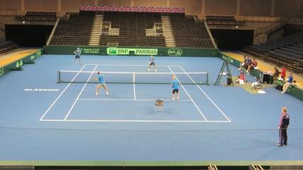 Dueluri de foc in Grupa Mondiala a Cupei Davis