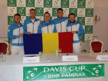 GAME cu GAME CUPA DAVIS, Romania-Israel in Grupa I a Zonei Euro-Africane 3-0. Victorie la general in doua zile