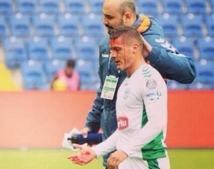 Torje insangerat in campionatul Turciei