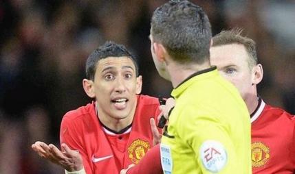 Angel Di Maria si-a pierdut capul in confruntarea cu Arsenal. L-a insultat grav pe arbitru