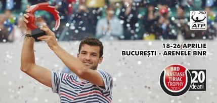 Gilles Simon revine la Bucuresti pentru Nastase Tiriac Trophy. Niciun roman acceptat direct pe tabloul de simplu