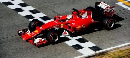 Vettel si-a botezat masina Ferrari cu numele Eva