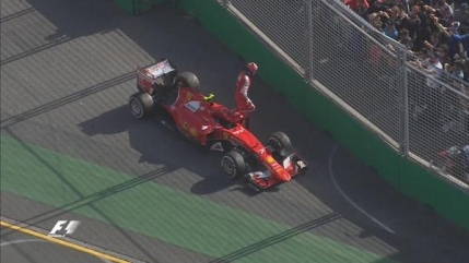 Raikkonen scapa de penalizare dupa cursa din Australia