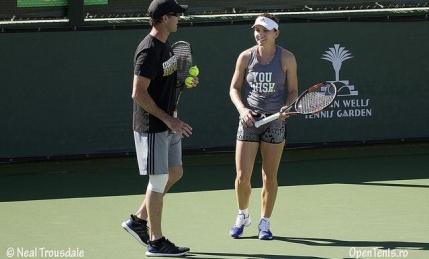 Sprijin de valoare pentru Simona Halep la Indian Wells