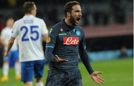 Napoli este prima echipa calificata in sferturile Europa League