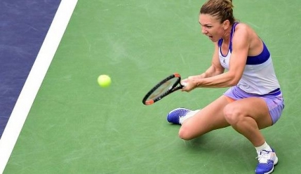 ABANDON Simona Halep-Serena Williams in semifinale la Indian Wells. Serena Williams a abandonat!