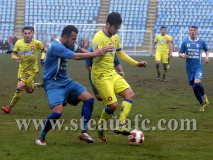Steaua a castigat la limita amicalul cu Farul