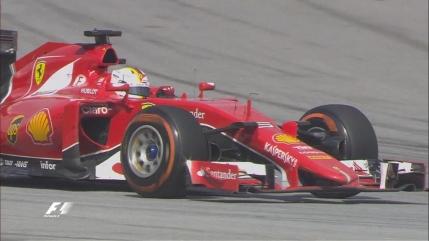 Sebastian Vettel castiga Marele Premiu al Malaysiei la doar a doua cursa pentru Ferrari