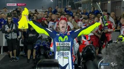 Nou record de viteza in MotoGP. Valentino Rossi castiga cursa inaugurala a sezonului