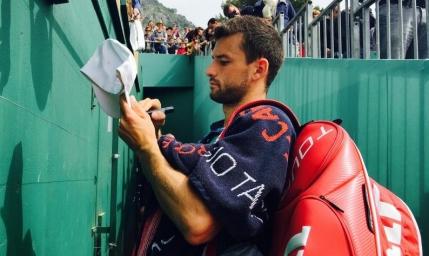 Grigor Dimitrov l-a spulberat pe Stan Wawrinka la Monte-Carlo. Un wild card il asteapta la Bucuresti
