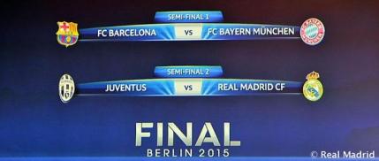 El Clasico in finala Champions League?