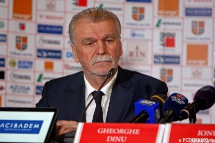 Dinu Gheorghe, prezentat oficial la Dinamo: Vreau sa jucam cu Real Madrid in Champions League